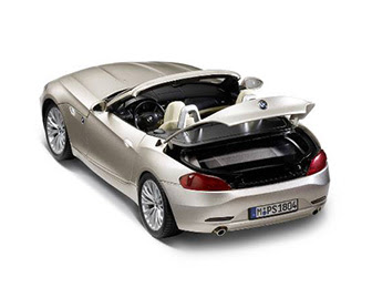 miniature BMW Z4 rear view