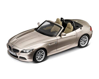 BMW Z4 silver miniature