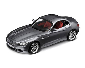 miniature BMW Z4 grey