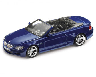 BMW M6 E64 Blue miniature