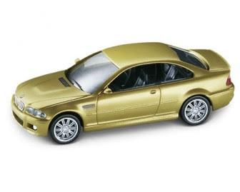 BMW M3 coupé titanium silver miniature