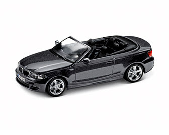 BMW E88 Convertible Sparkling Graphite miniature
