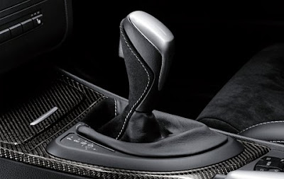 BMW Performance selector lever grip