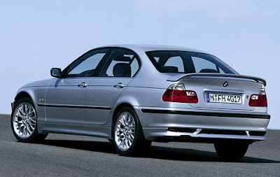 Aerodynamic kit for BMW 3 Series Saloon