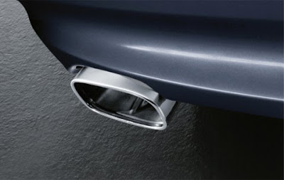 Sport rear silencer BMW Saloon ,Touring