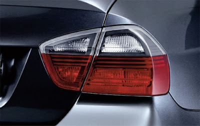 Dark line rear lights BMW 3 Saloon