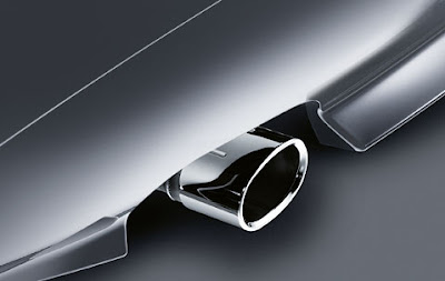 Exhaust pipe finishers BMW Z4