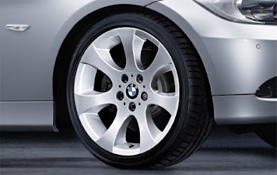 BMW Ellipsoid spoke 162 – complete wheel and tyre set
