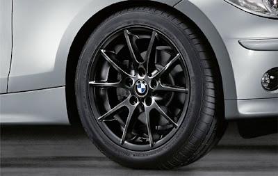BMW Double spoke 178 in black – wheel, tyre set