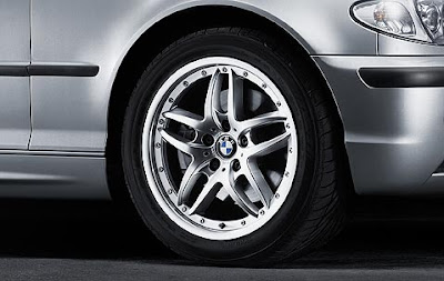Double spoke composite wheel 71 tyre set