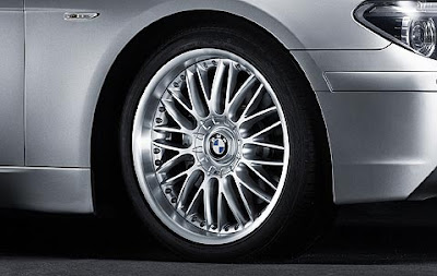 BMW 7 M cross spoke composite wheel 101