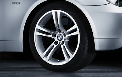 BMW 5 wheel, tyre set M double spoke 184