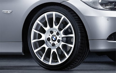 BMW 3 Radial spoke 216 – wheel, tyre set