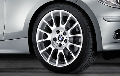 BMW 1 Radial spoke 216 – wheel, tyre set