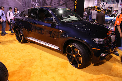 BMW x6 dark blue