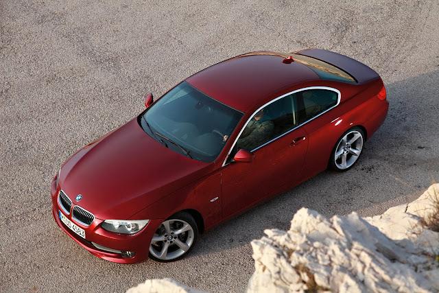 BMW 335i exterior design