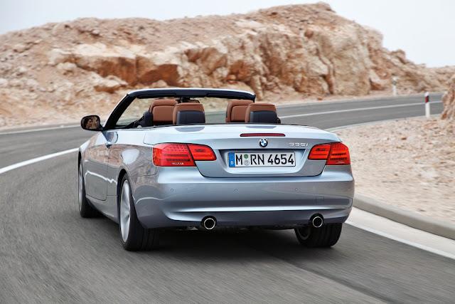 Convertible BMW 335i model