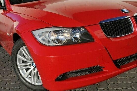 used 2007 BMW 320i Red