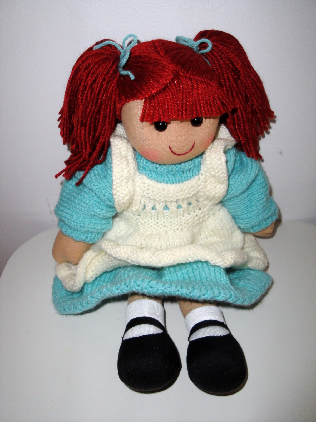 Knitting Pattern Large Rag Doll : Chiwaluv Amigurumi Critters: Cloth Doll