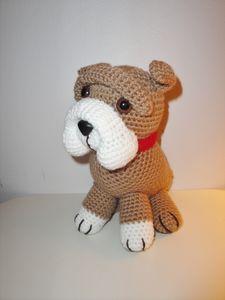 Free Pattern For Crochet Bulldog : Chiwaluv Amigurumi Critters: Old English Bulldog