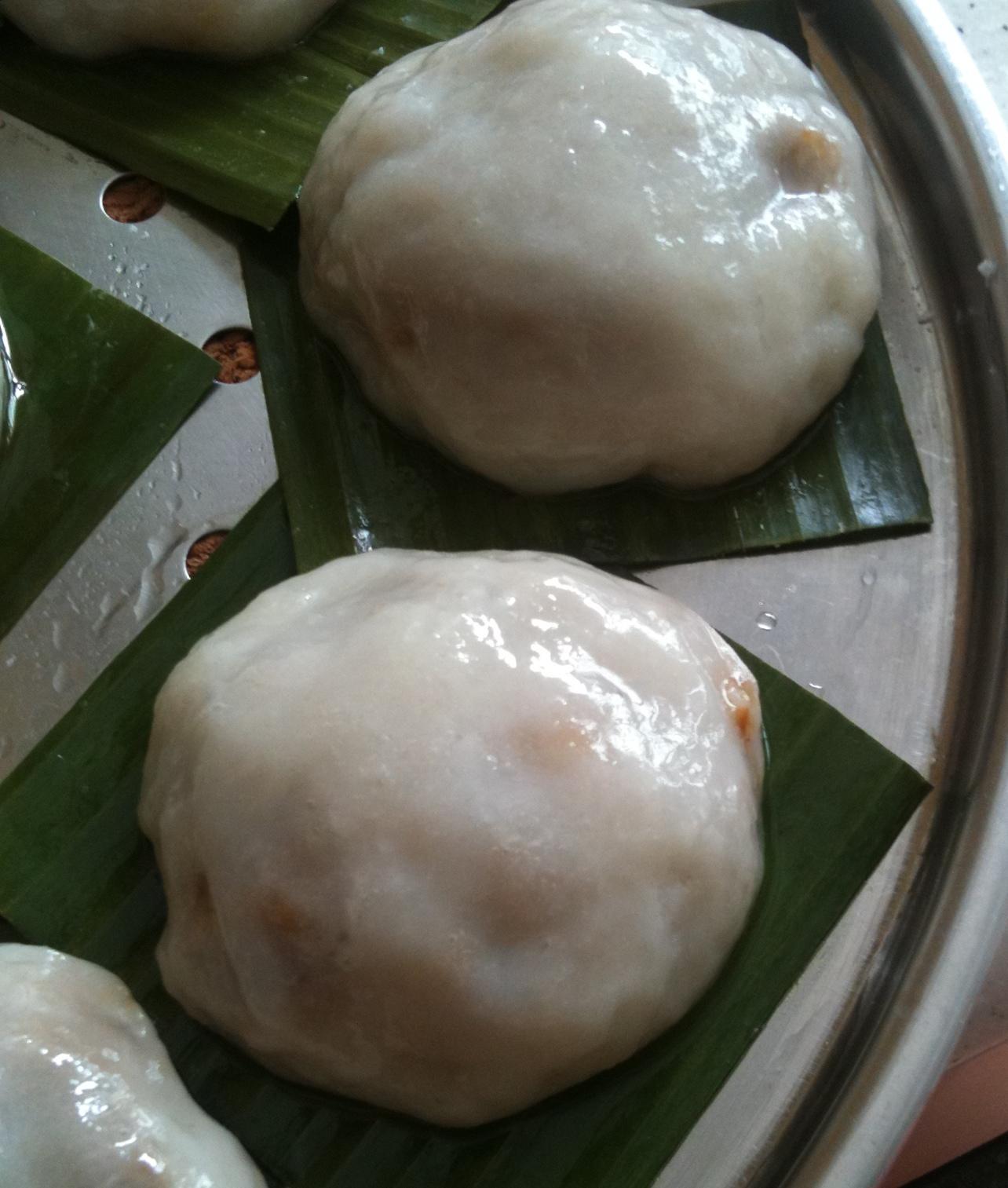 My Baking Journal: 客家茶果 Oyster Eating Salt