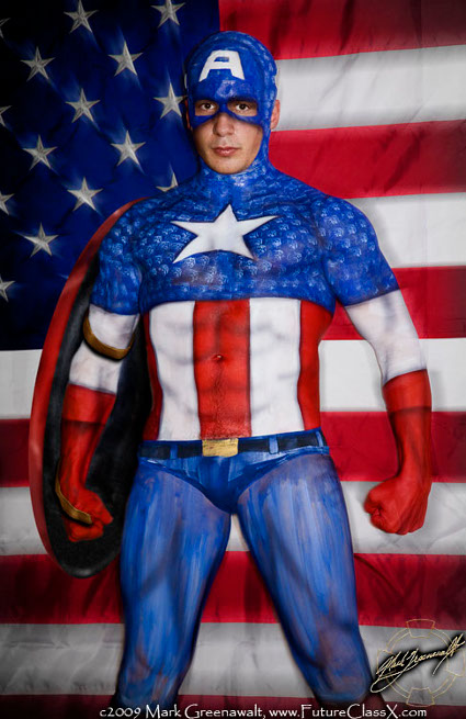 Nude gay captain america sex porn images for America s finest paint
