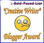 Creative Writer award from Snowman Lover!  6/13/10