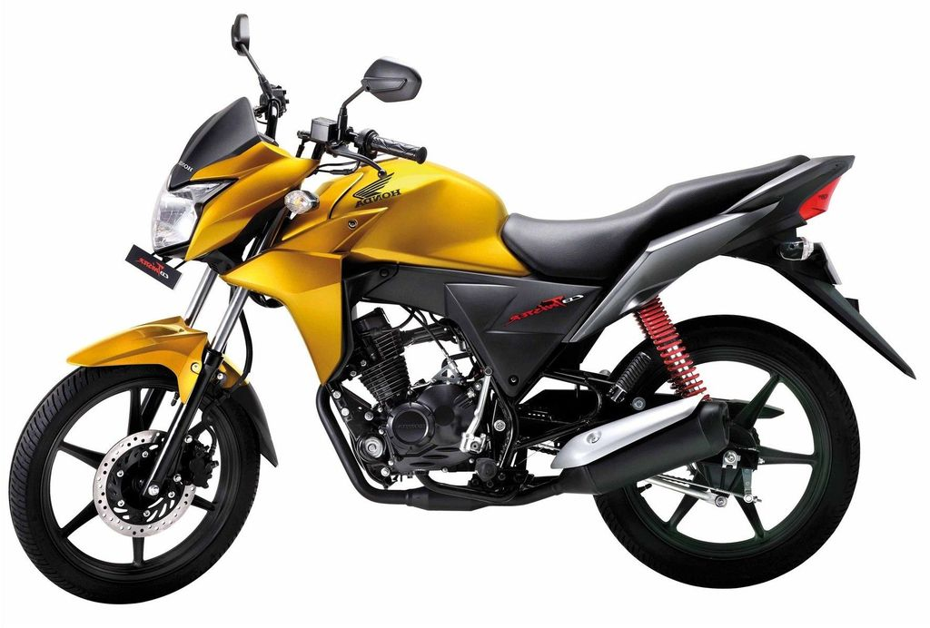 Thus the Honda CB Twister has