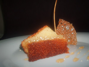 GREEK HONEY LEMON CAKE