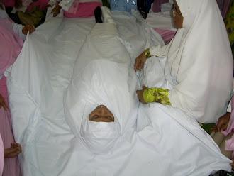 jenazah yang telah dikapan