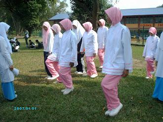 latihan kawad kaki