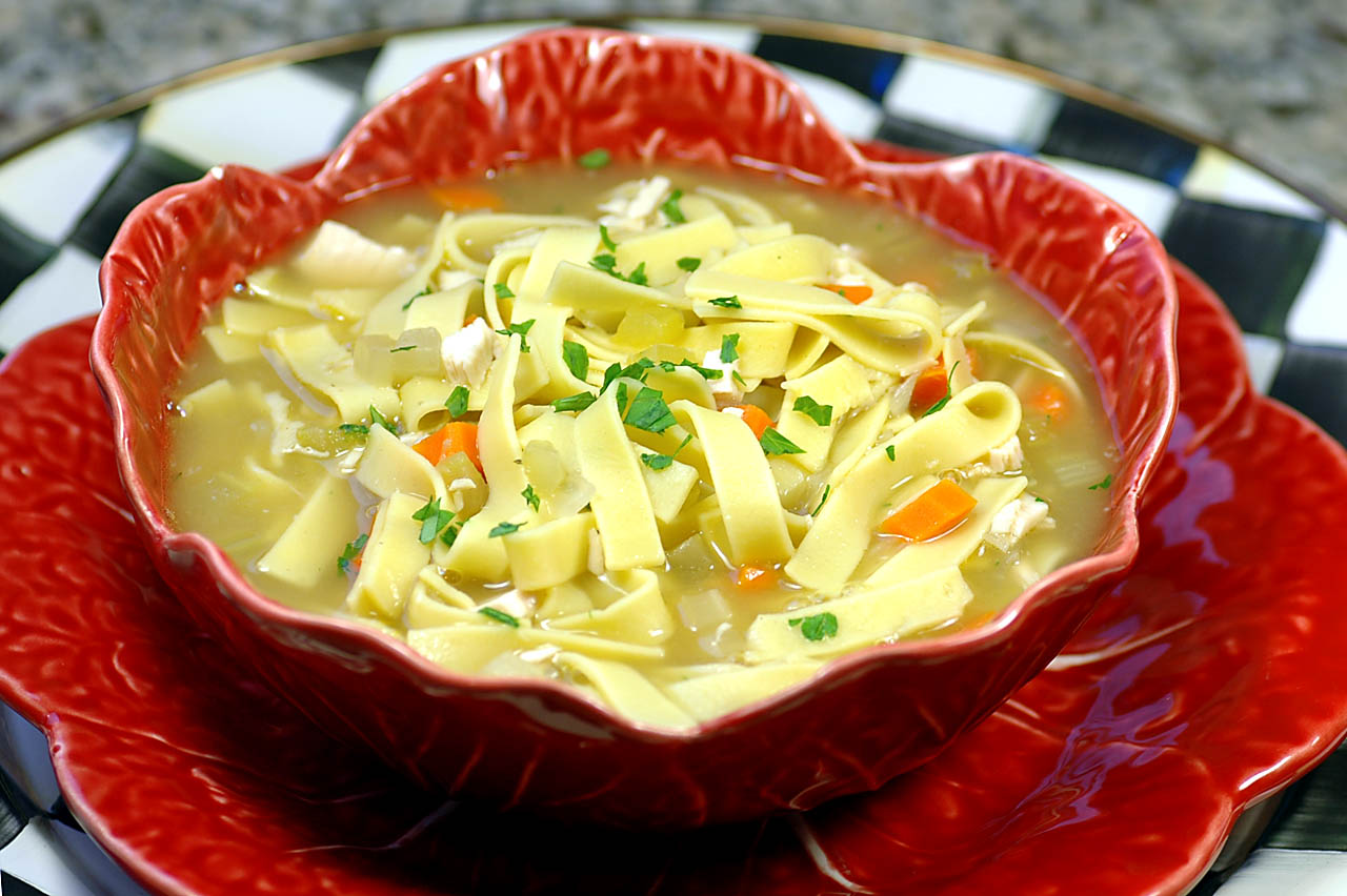 Savoring Time in the Kitchen: Turkey Noodle Soup