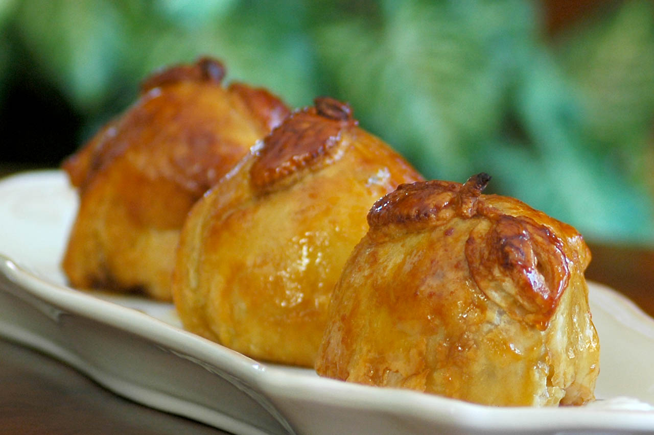 Apple Dumplings for National Apple Dumpling Day