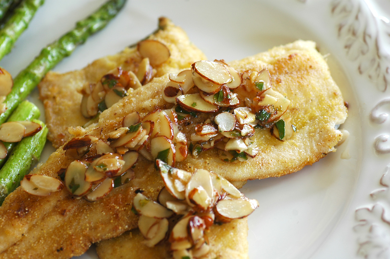 Savoring Time in the Kitchen: Rainbow Trout Amandine with ...