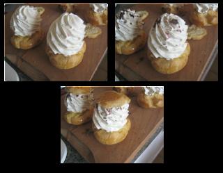 Sans titre 3 Choux à la crème légère vanille