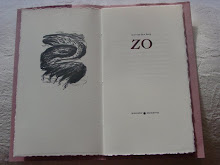 "Weird German ""ZO"" Poem book by Arie Van den Berg"