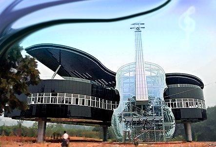 Arquitetura é música petrificada