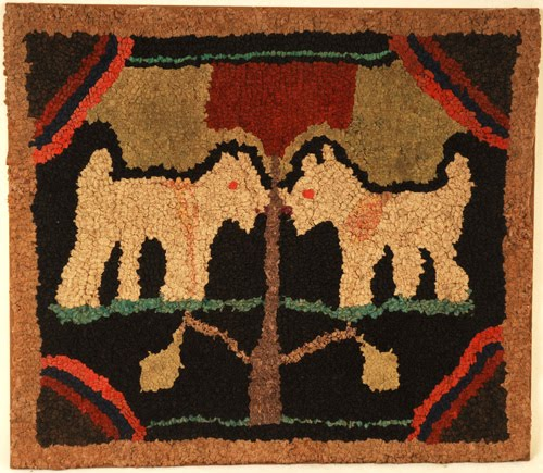 Old And Early Inspirations: Hooked Rugs