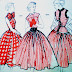 1950's Fashion Illustrations