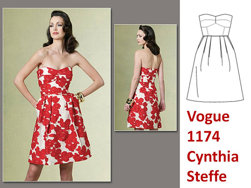 Pintucks: Vogue Patterns: Sewing the New Spring Vintage Looks