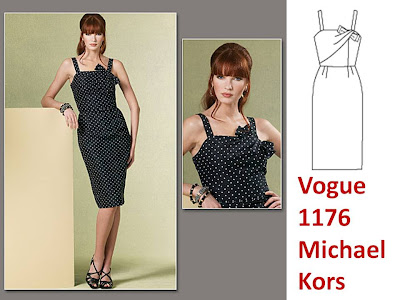 Michael Kors Vogue 1176 Pintuckstyle