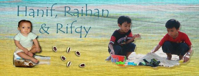 Hanif and Raihan