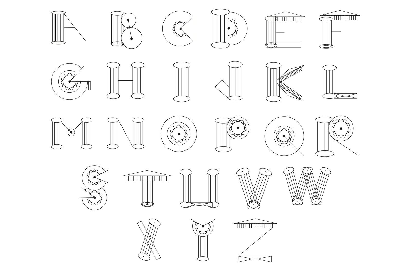 tikkit: Architectural Alphabets