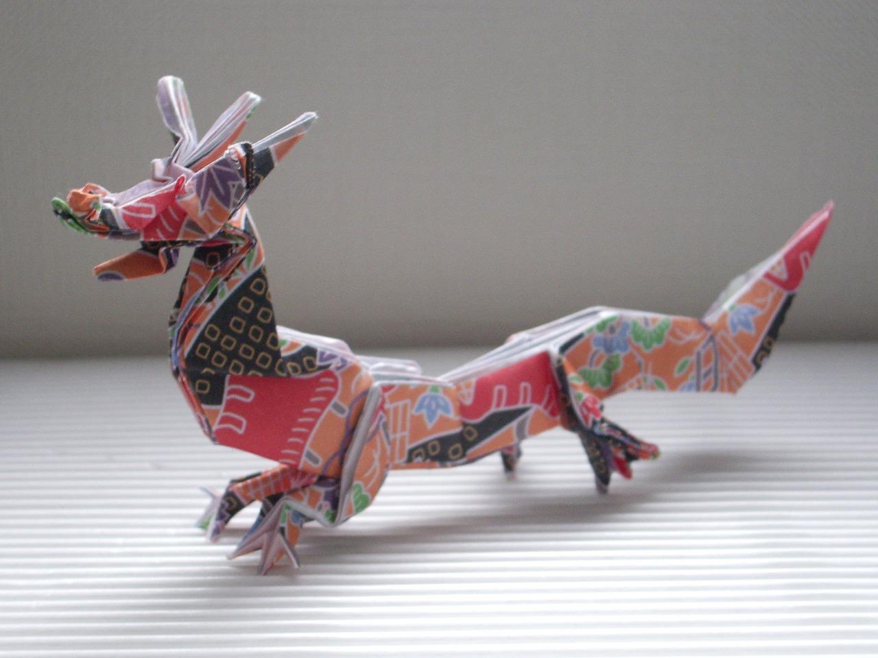 Katakoto Origami Origami Chinese Dragon