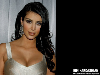 Kim Kardashian Sexy Dress Wallpaper