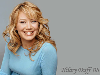 Hilary Duff Big Smile Wallpaper