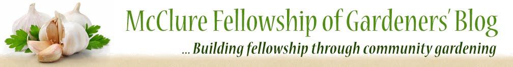 McClure Fellowship of Gardeners' Blog