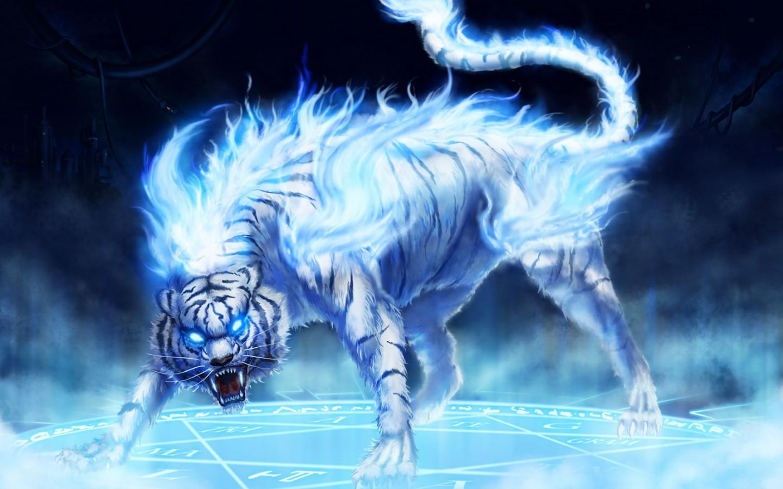 Fantasy Blue Tiger   Photo#1