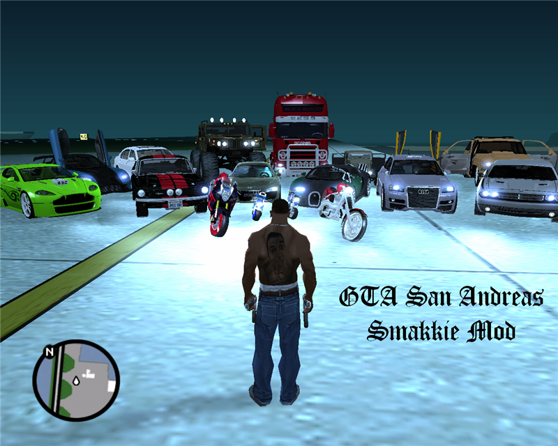 Grand Theft Auto - San Andreas (PTMG Edition v2.1) PS2 ISO (PAL) | 3.1 Gb