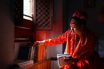 尼泊爾 活女神 - 尼泊爾的活女神